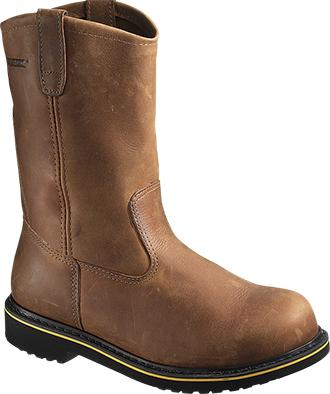 """Men's Wolverine 10"""" Steel Toe Welllington Work Boot W10102"""