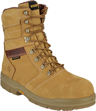 "Men's Wolverine 8"" Steel Toe WP/Insulated Work Boot W04112"