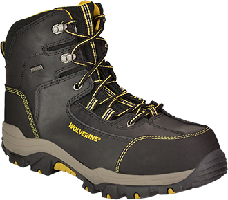 "Men's Wolverine 6"" Composite Toe WP Hiker Work Boot W10075"