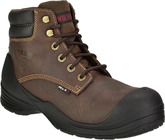 "Men's Wolverine 6"" Composite Toe WP Work Boot W10088"