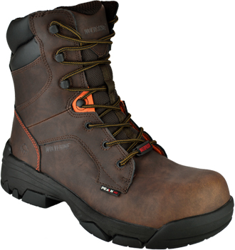 "Men's Wolverine 8"" Composite Toe WP Work Boot W10117"