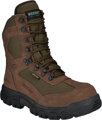 "Men's Wolverine 8"" Steel Toe WP/Insulated Work Boot W04779"