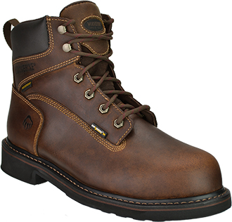 "Men's Wolverine 6"" Steel Toe WP Work Boot W10080"
