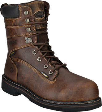 "Men's Wolverine 8"" Steel Toe WP Work Boot W10082"