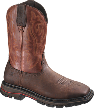 "Men's Wolverine 10"" Steel Toe Western Wellington Work Boot W02780"