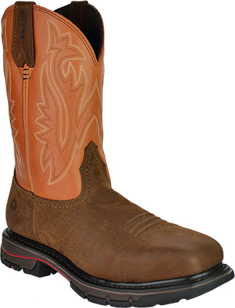 "Men's Wolverine 10"" Steel Toe Western Wellington Work Boot W02781"