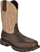 "Men's Wolverine 10"" Steel Toe Western Wellington Work Boot W02782"