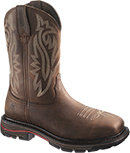 "Men's Wolverine 10"" Steel Toe Western Wellington Work Boot W02783"