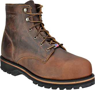 "Men's Wolverine 6"" Steel Toe Work Boot (U.S.A.) W02696"