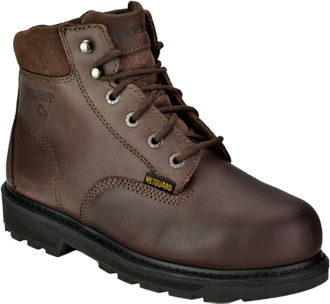 "Men's Wolverine 6"" Steel Toe Metguard Work Boot W04451"