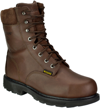 "Men's Wolverine 8"" Steel Toe Metguard Work Boot W04452"