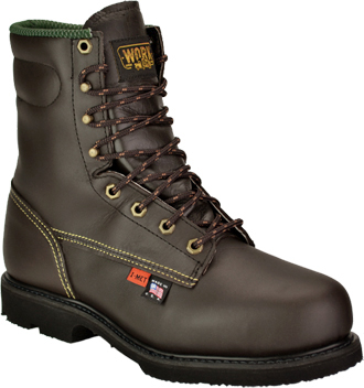 "Men's Work One/Thorogood 8"" Steel Toe Metguard Boot (U.S.A.) 38253  (804-4531)"