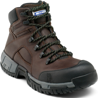 "Men's Michelin 6"" Steel Toe WP Work Boot XHY662"
