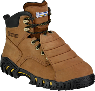 "Men's Michelin 6"" Steel Toe Metguard Work Boot XPX761"