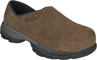 Women's Nautilus Composite Toe Slip-On Clog Work Shoe 1880