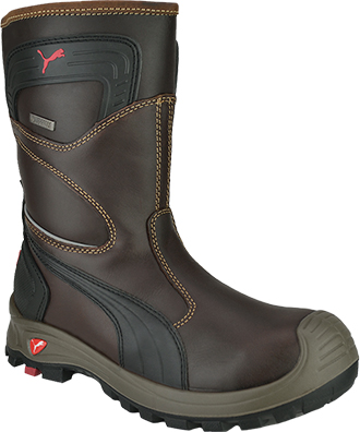 Men's Puma Composite Toe WP Wellington Rigger Work Boot 630435
