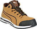 Nubuck Leather Men's Steel Toe Shoes