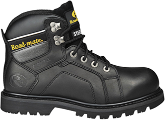"Men's Roadmate 6"" Steel Toe Work Boot Gravel-S-B"