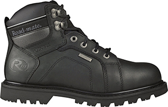 "Men's Roadmate 6"" Steel Toe WP Work Boot Gravel-S-B-WP"