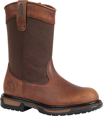 Men's Rocky Steel Toe WP Wellington Work Boot 6430