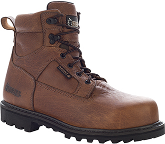 "Men's Rocky 6"" Steel Toe WP Work Boot 6987"