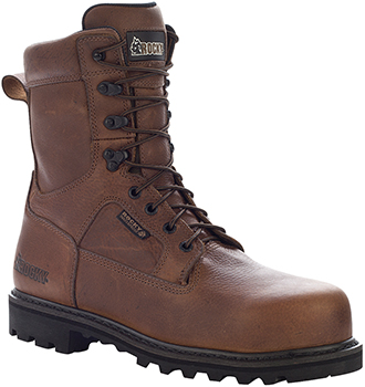 "Men's Rocky 8"" Steel Toe WP Work Boot 6988"