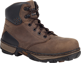 "Men's Rocky 6"" Steel Toe WP Work Boot RK020"