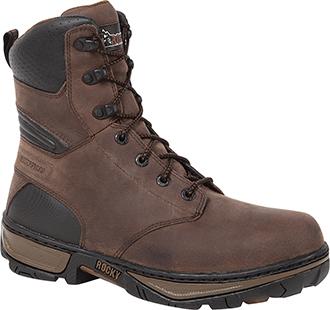 "Men's Rocky 8"" Steel Toe WP Work Boot RK022"
