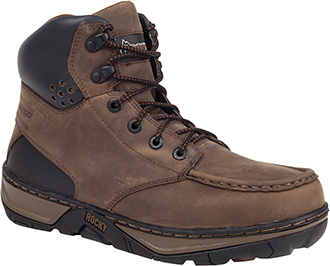 "Men's Rocky 6"" Steel Toe WP Wedge Sole Work Boot RK026"