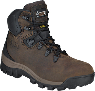 "Women's Rocky 6"" Steel Toe WP Work Boot RK035"