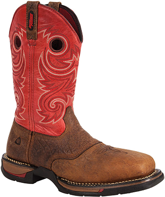 "Men's Rocky 12"" Composite Toe Western Work Boot RW027"