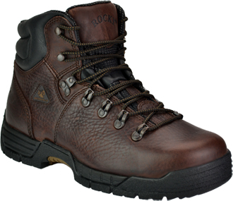 "Men's Rocky 6"" Steel Toe WP Work Boot 6114"