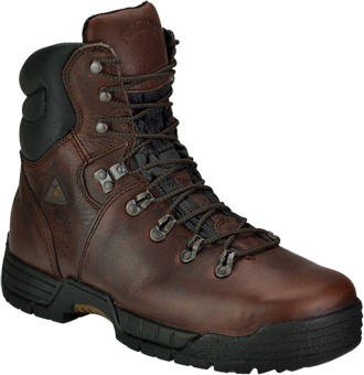 "Men's Rocky 8"" Steel Toe WP Work Boot 6115"