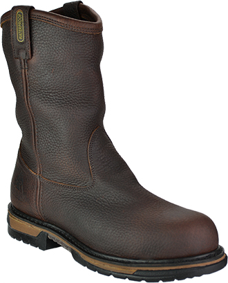 "Men's Rocky 10"" Steel Toe WP Wellington Work Boot 6685"