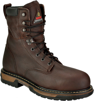 "Men's Rocky 8"" Steel Toe WP Work Boot 6693"