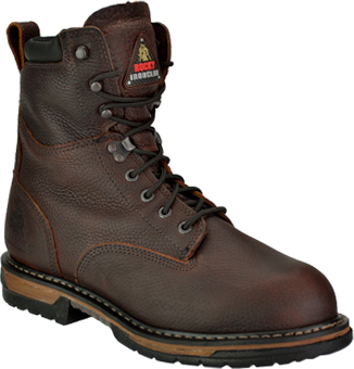 "Men's Rocky 8"" Steel Toe WP/Insulated Work Boot 6694"