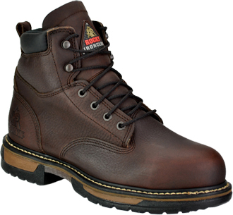 "Men's Rocky 6"" Steel Toe WP Work Boot 6696"