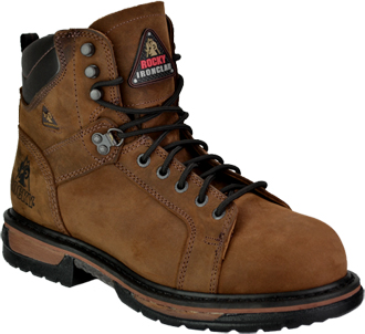 Men's Rocky Steel Toe WP Work Boot 6701