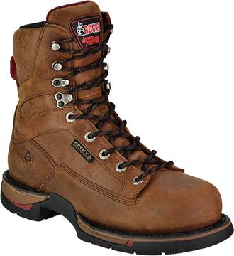 "Men's Rocky 8"" Steel Toe WP Work Boot 6886"