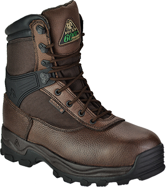 "Men's Rocky 8"" Steel Toe WP/Insulated Work Boot 6486"