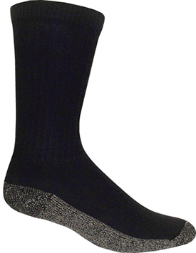 "Catawba Black 3-Pack Sock Designed for ""Steel Toe"" Footwear Usage (U.S.A.)"