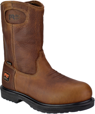 "Men's Timberland 10"" Steel Toe WP Wellington Work Boot 47017"