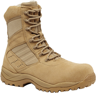 "Men's Tactical Research 8"" Composite Toe Metal Free Military Boot TR336CT"