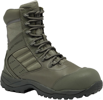 "Men's Tactical Research 8"" Composite Toe Metal Free Military Boot TR636CT"