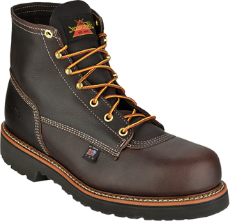 "Men's Thorogood 6"" Steel Toe Work Boot (U.S.A.) 804-4376"
