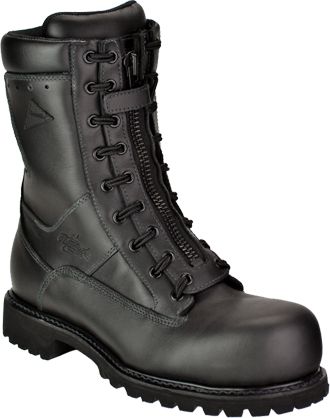 "Women's Thorogood 9"" HellFire Power EMS / Wildland Composite Toe Front-Zipper Boot 504-6379"