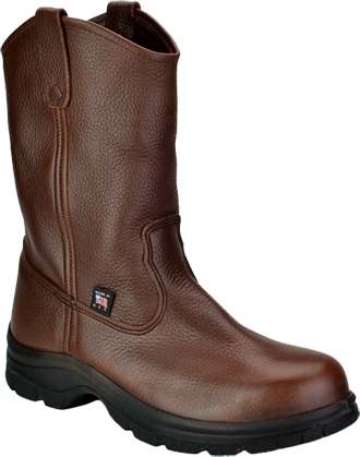 "Men's Thorogood 10"" Steel Toe Wellington Work Boot (U.S.A.) 804-4580"