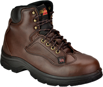 "Men's Thorogood 6"" Steel Toe Work Boot (U.S.A.) 804-4860"
