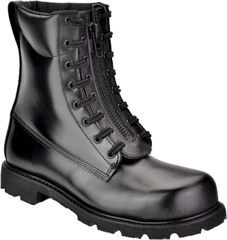"Men's Thorogood 8"" Steel Toe Front-Zipper Work Boot (U.S.A.) 804-6446"