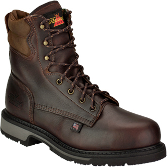 "Men's Thorogood 8"" Steel Toe Work Boot (U.S.A.) 804-4204"